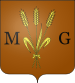 Description : Blason de la ville de Maruéjols-lès-Gardon (30).svg