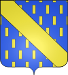 Description : Blason de la ville d'Arceau (21).svg