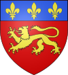 Description : Blason ville fr La Ferthé-Bernard (Sarthe).svg