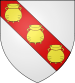 Description : Blason de Sury le Comtal (Loire).svg