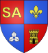 Description : Blason Saint-Aignan-sur-Roe.svg